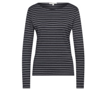 Shirt graphit / weiß