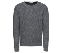 Pullover 'Small Diamond Knit - Gots'