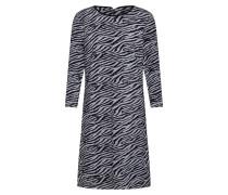 Kleid silbergrau / graumeliert