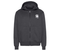 Kapuzensweatjacke 'Doax hooded zip'
