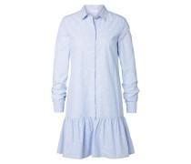 Blusenkleid hellblau