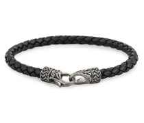 Armband silber / schwarz