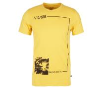 T-Shirt gelb / schwarz