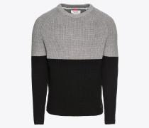 Strickpullover 'Pullover Long Sleeve in Half Cardigan'