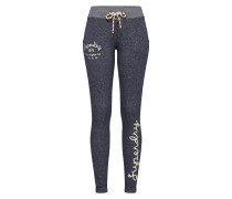 Hose 'rylee Embroidered Joggers' navy