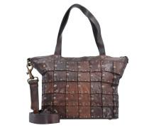 Rivetti Vacch Handtasche Leder 26 cm