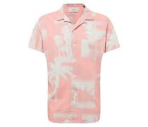 Hemd 'jorharvey' rosa / weiß