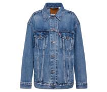 Jeansjacke 'baggy Trucker' blau
