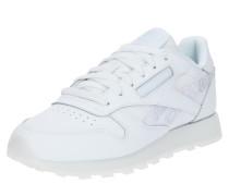 Sneaker Low blau / grau / weiß