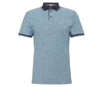 Polo-Shirt rauchblau