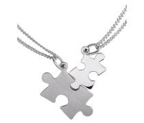 Schmuckset: Partnerschmuck »Puzzle« (Set 4tlg.)