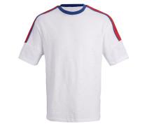T-Shirt blau / rot / weiß