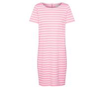 Jerseykleid 'Tinny New' pink / weiß