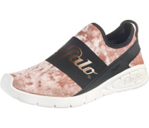 Sneakers altrosa / schwarz / weiß