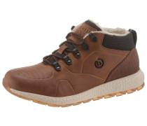 Sneaker creme / braun / schwarz