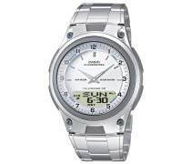 Uhr 'Collection' silber / weiß
