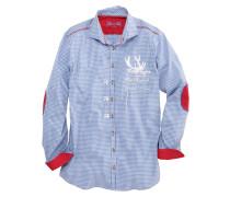 Trachtenhemd mit trendiger Stickerei