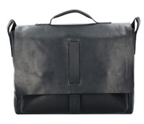 Loreto Kreon Messenger Businesstasche Leder 39 cm Laptopfach