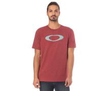 'O-Bold Ellipse' T-Shirt pastellrot