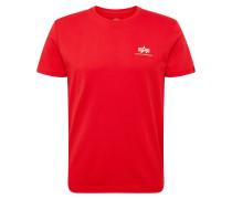 Shirt 'Small Logo' hellrot