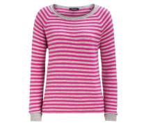 Ringelpullover pink/grau grau / rosa