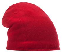 Beanie Mütze rot