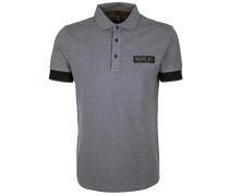 Poloshirt grau / schwarz