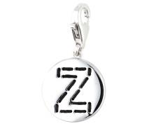 Charm 'Letter Z' schwarz / silber