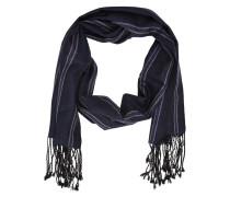 Schal Woll schwarz / weiß