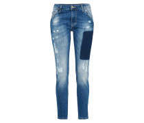 Loosefit Jeans 'Boyfriend' blue denim