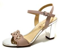 Sandalen/Sandaletten braun / beige