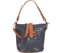 Handtasche 'Bols' blau / braun