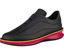 Sneakers Low 'Rolling' gelb / rot / schwarz