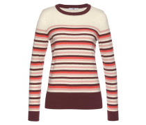 Pullover rosa / rot / bordeaux / naturweiß