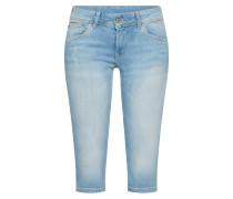 Slimfit Jeans 'saturn Crop' hellblau