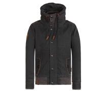 Jacket 'Gurkengünstling' braun / schwarz