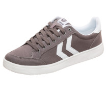 Sneaker 'Nassau' taupe / weiß