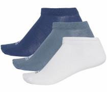 Sneakersocken blau / weiß