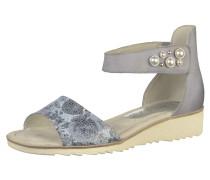 Sandalen beige / taubenblau