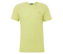 T-Shirt hellgrau / hellgrün