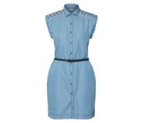 Blusenkleid 'Dora' blau