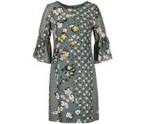 Kleid grün / mischfarben