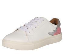 Sneaker Low 'sage Flower' weiß