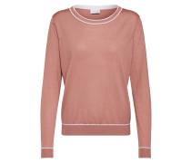 Pullover rosé / weiß