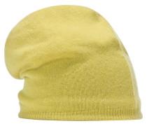 Beanie Mütze gelb