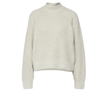 Pullover 'Karim' grau / khaki