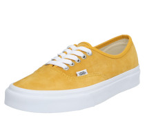 Sneaker 'UA Authentic' gelb / weiß