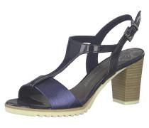 Sandaletten blau / schwarz