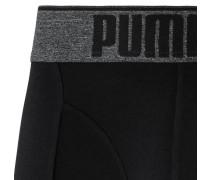 Boxershorts grau / schwarz / dunkelgrün