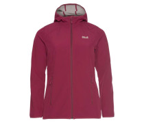 Softshelljacke bordeaux